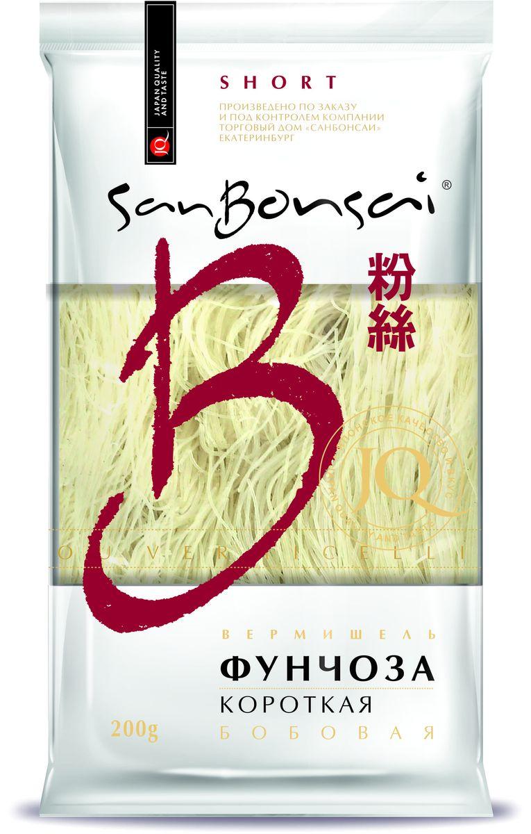 SanBonsai вермишель бобовая фунчоза короткая, 200 г8266Эти короткие макароны подойдут для приготовления десятка различных блюд, которые так любит ваша семья!