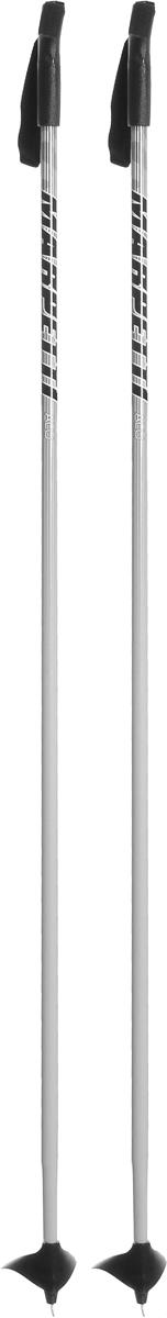 Палки для беговых лыж Marpetti, длина 145 см338438-125Спортивные палки Marpetti - это превосходный выбор для любителей активного катания на лыжах. Модель выполнена из легкого алюминия. Пластиковая рукоятка имеет удобный хват, благодаря которому рука не мерзнет и не скользит. Гоночный темляк удобно надевается и надежно поддерживает кисть. Большая гоночная лапка с твердосплавным наконечником не проваливается в снег. Спортивные палки подойдут как начинающим лыжникам, так и опытным спортсменам.