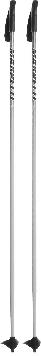 Палки для беговых лыж Marpetti, длина 165 смSPBIKE2Спортивные палки Marpetti - это превосходный выбор для любителей активного катания на лыжах. Модель выполнена из легкого алюминия. Пластиковая рукоятка имеет удобный хват, благодаря которому рука не мерзнет и не скользит. Гоночный темляк удобно надевается и надежно поддерживает кисть. Большая гоночная лапка с твердосплавным наконечником не проваливается в снег. Спортивные палки подойдут как начинающим лыжникам, так и опытным спортсменам.