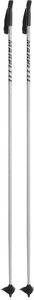 Палки для беговых лыж Marpetti, длина 160 смU-POLE 160Спортивные палки Marpetti - это превосходный выбор для любителей активного катания на лыжах. Модель выполнена из легкого алюминия. Пластиковая рукоятка имеет удобный хват, благодаря которому рука не мерзнет и не скользит. Гоночный темляк удобно надевается и надежно поддерживает кисть. Большая гоночная лапка с твердосплавным наконечником не проваливается в снег. Спортивные палки подойдут как начинающим лыжникам, так и опытным спортсменам.
