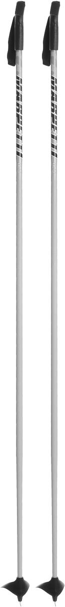 Палки для беговых лыж Marpetti, длина 170 смSPBIKE2Спортивные палки Marpetti - это превосходный выбор для любителей активного катания на лыжах. Модель выполнена из легкого алюминия. Пластиковая рукоятка имеет удобный хват, благодаря которому рука не мерзнет и не скользит. Гоночный темляк удобно надевается и надежно поддерживает кисть. Большая гоночная лапка с твердосплавным наконечником не проваливается в снег. Спортивные палки подойдут как начинающим лыжникам, так и опытным спортсменам.