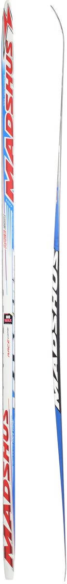 Лыжи беговые Madshus Race Combi MG, цвет: белый, красный, синий, длина 205 смN13367Madshus Race Combi MG - это добротные, надежные, универсальные беговые лыжи для любителей. Изделия изготовлены из прочных материалов. Лыжи оснащены деревянным сердечником с воздушными каналами. Изделия имеют специальные насечки MG для классического хода. Лыжи легкоуправляемые, не требуют специального ухода и долговечны в использовании. Ширина лыжи в месте крепления ботинка: 4 см.