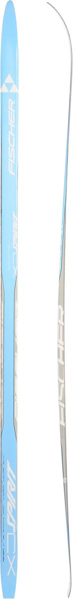 Лыжи беговые Fischer Spirit Crown Blue Jr, цвет: голубой, серый, длина 170 смN64015Fischer Spirit Crown Blue Jr - это добротные, надежные, универсальные беговые лыжи для детей. Изделия изготовлены из прочных материалов. Оптимизированная система воздушных каналов в структуре деревянного сердечника Air Channel отличается высочайшей прочностью и оптимальным распределением веса. Универсальная обработка обеспечивает прекрасное скольжение. Классические лыжи с насечками, отличный вариант для освоения техники катания и занятий на уроках физкультуры. Геометрия: 51-47-50 мм.