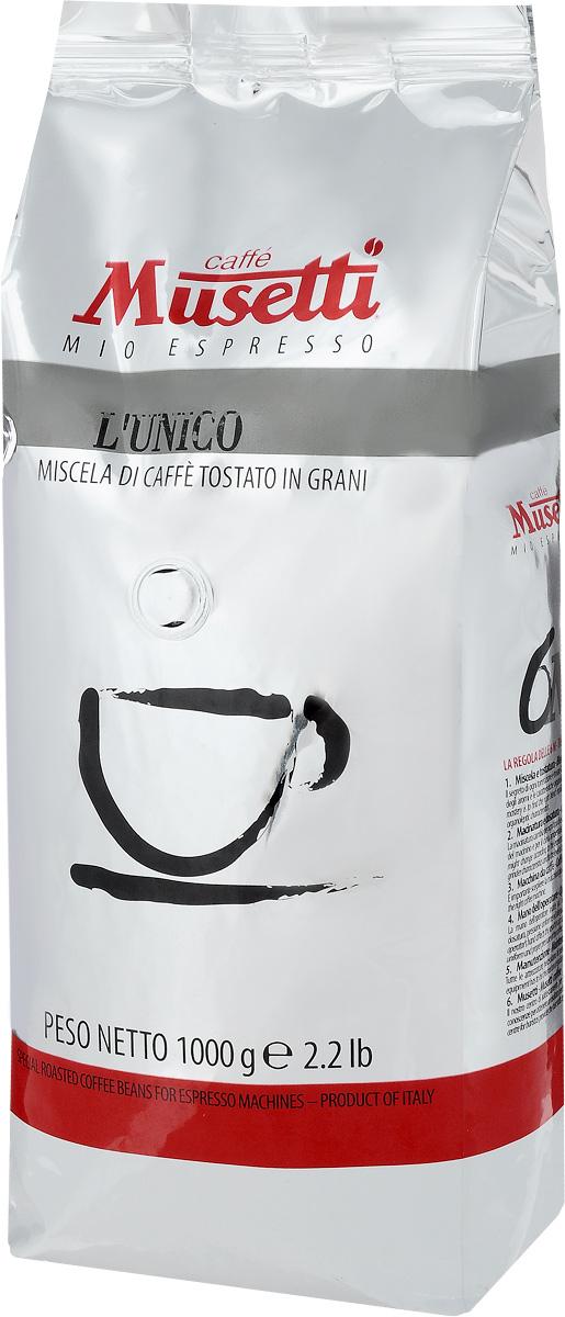 Musetti LUnico кофе в зернах, 1 кг8004769200321Кофе в зернах Musetti LUnico обладает ярким букетом с освежающими цитрусовыми нотами. Раздельная обжарка лучших сортов арабики подчеркивает кислинку и характерные ноты красных фруктов в аромате.