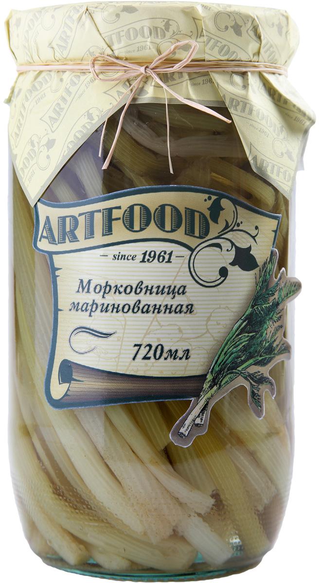 Artfood морковница маринованная, 720 мл23001110200027Компания Артфуд была основана в 1995 г на базе Арташатского Консервного Завода и на сегодняшний день является одной из крупнейших компаний в Армении и имеет доминирующие позиции в сфере консервированной продукции. Не содержит консервантов, искусственных ароматизаторов и красителей.