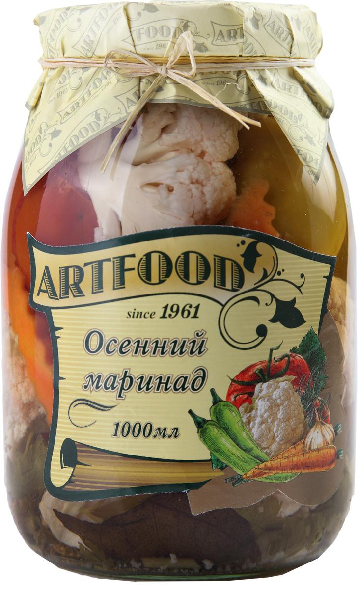 Artfood осенний маринад, 1 кг23001110200014Компания Артфуд была основана в 1995 г на базе Арташатского Консервного Завода и на сегодняшний день является одной из крупнейших компаний в Армении и имеет доминирующие позиции в сфере консервированной продукции. Не содержит консервантов, искусственных ароматизаторов и красителей.
