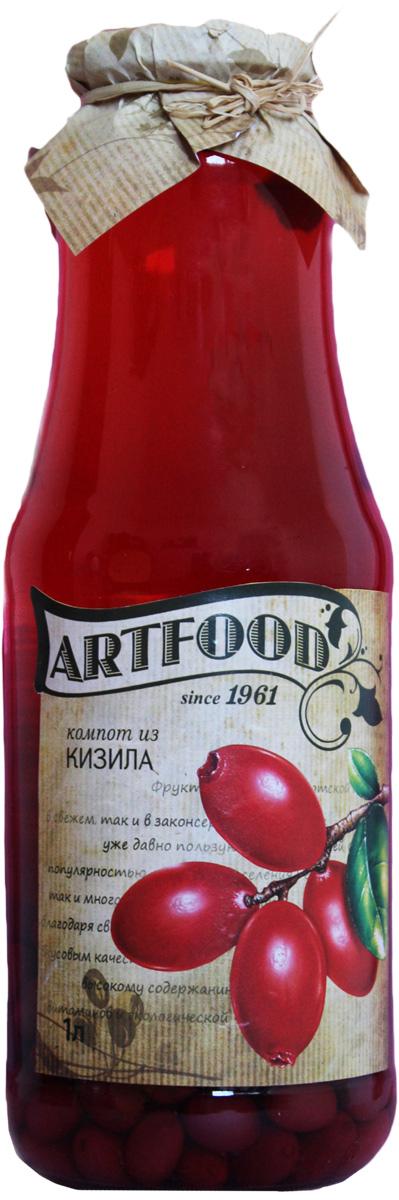 Artfood компот из кизила, 1 л13001110200013Компот обладает множеством полезных свойств в сравнении с другими жидкостями. В отличие от воды в нём содержатся витамины. От соков компот отличается тем, что не содержит такого обильного количества кислот, которые могут негативно повлиять на желудок