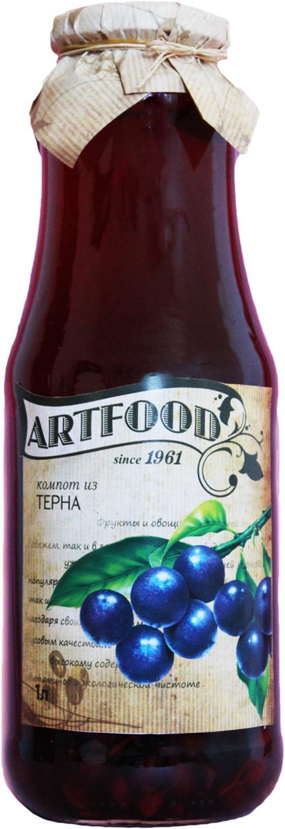 Artfood компот из терна, 1 л13001110200005Компот обладает множеством полезных свойств в сравнении с другими жидкостями. В отличие от воды в нём содержатся витамины. От соков компот отличается тем, что не содержит такого обильного количества кислот, которые могут негативно повлиять на желудок