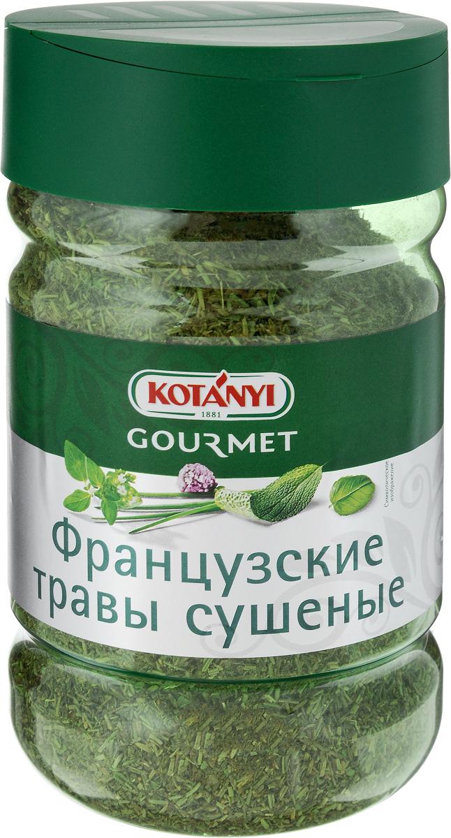 Kotanyi Приправа Французские травы сушеные, 270 г243911Французские сушеные травы Kotanyi обладают пряным ароматом, который раскрывается в процессе приготовления. Отлично подходят к мясу, рыбе, блюдам из птицы, а также к овощам и средиземноморским салатам. Уважаемые клиенты! Обращаем ваше внимание, что полный перечень состава продукта представлен на дополнительном изображении.