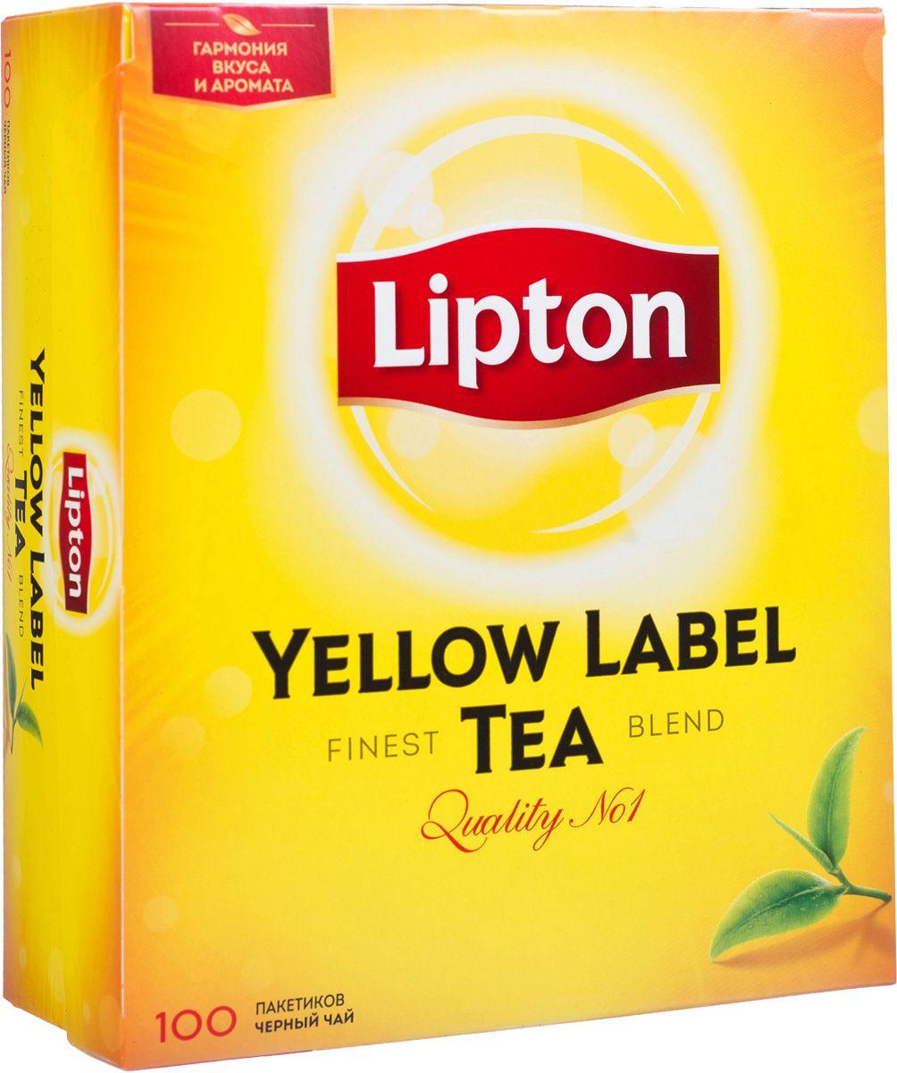 Lipton Yellow Label Черный чай Черный 100 шт67016388/65414854/20248358Lipton Yellow Label - черный байховый чай в пакетиках для разовой заварки. Нежные чайные листочки, выращенные под теплыми лучами солнца, дарят чаю Lipton насыщенный вкус и превосходный богатый аромат. Специалисты Lipton внимательно следят за каждым этапом создания чая, начиная с рождения чайного листа и заканчивая купажированием, чтобы Вы могли в полной мере насладиться гармонией вкуса и аромата черного чая Lipton Yellow Label.