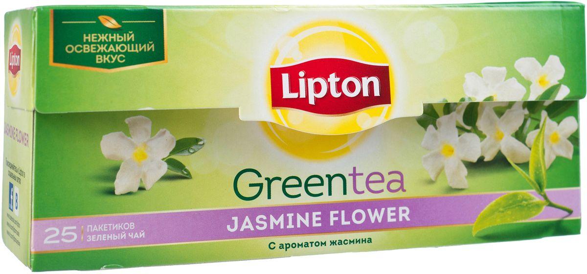 Lipton Зеленый чай Jasmine Petals 25 шт21075236Нежные чайные листочки, выращенные под теплыми лучами солнца, дарят зеленому чаю Lipton Green Jasmine освежающий вкус, дополненный тонким ароматом жасмина, чтобы вы могли насладиться любимым чаем. Откройте утонченную нежность вкуса жасмина в изысканном букете зеленого чая!