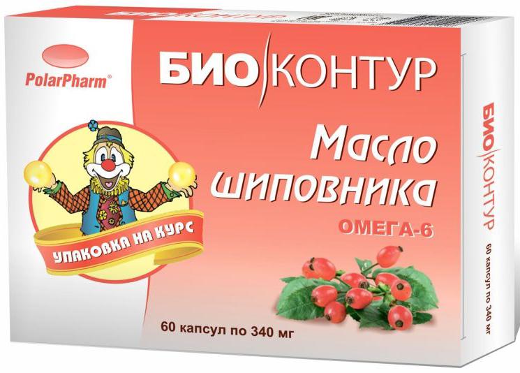 Масло шиповника БиоКонтур, в капсулах 340 мг, №604607097011948Масло шиповника БиоКонтур в капсулах 340 мг №60 способствует повышению сопротивляемости инфекциям и иммунитету способствует укреплению стенок кровеносных сосудов способствует улучшению минерального и углеводного обмена Состав: масло шиповника, оболочка (желатин, глицерин (пластификатор), вода), витамин Е. Товар не является лекарственным средством. Могут быть противопоказания и следует предварительно проконсультироваться со специалистом.