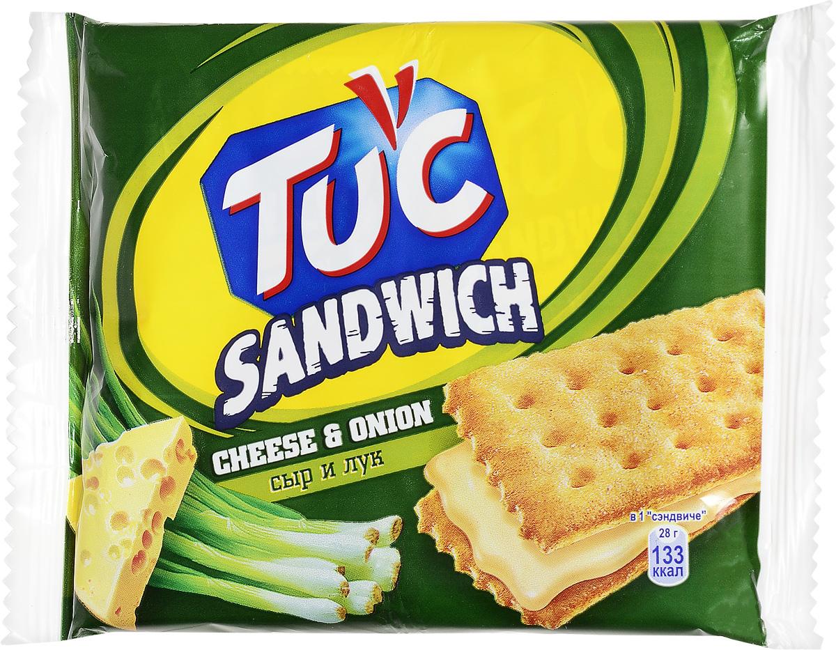 Tuc Крекер-сэндвич со вкусом сыра и лука, 112 г