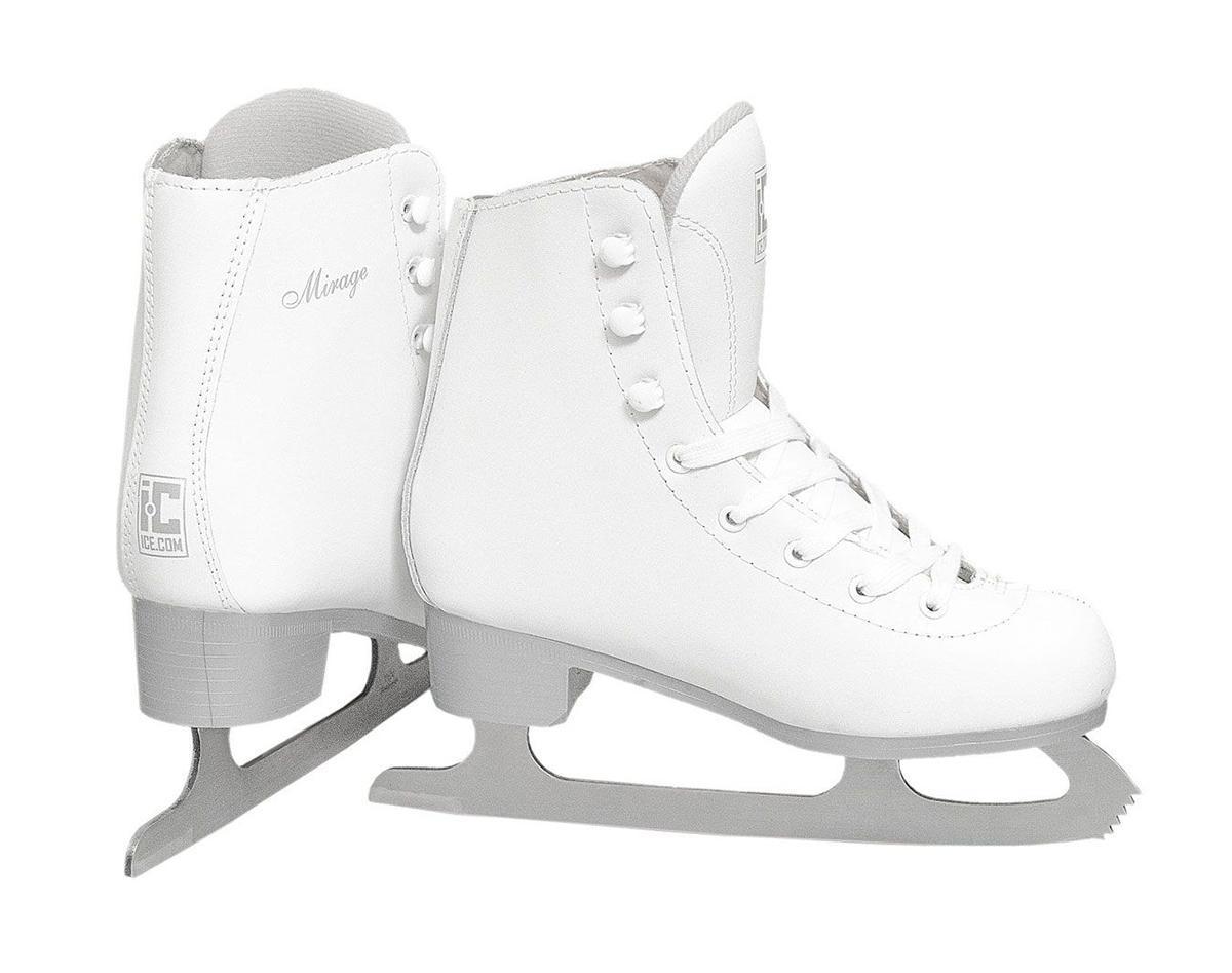 Коньки фигурные женские Ice.Com Mirage 2014-2015, цвет: белый. Размер 40