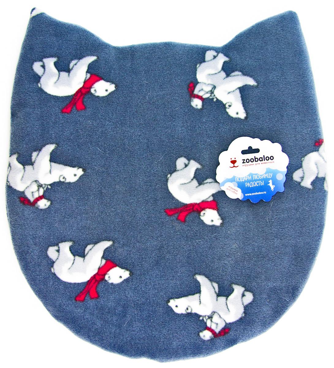 Лежак-коврик для животных Zoobaloo Мордашка. Мишки, 45 х 50 см1113Великолепный флисовый лежак-коврик Zoobaloo - это отличный аксессуар для вашего питомца, на котором можно спать, играться и снова, приятно устав, заснуть. Он идеально подходит для полов с любым покрытием. Изделие поддерживает температурный баланс вашего питомца в любое время года. Наполнитель выполнен из синтепона.