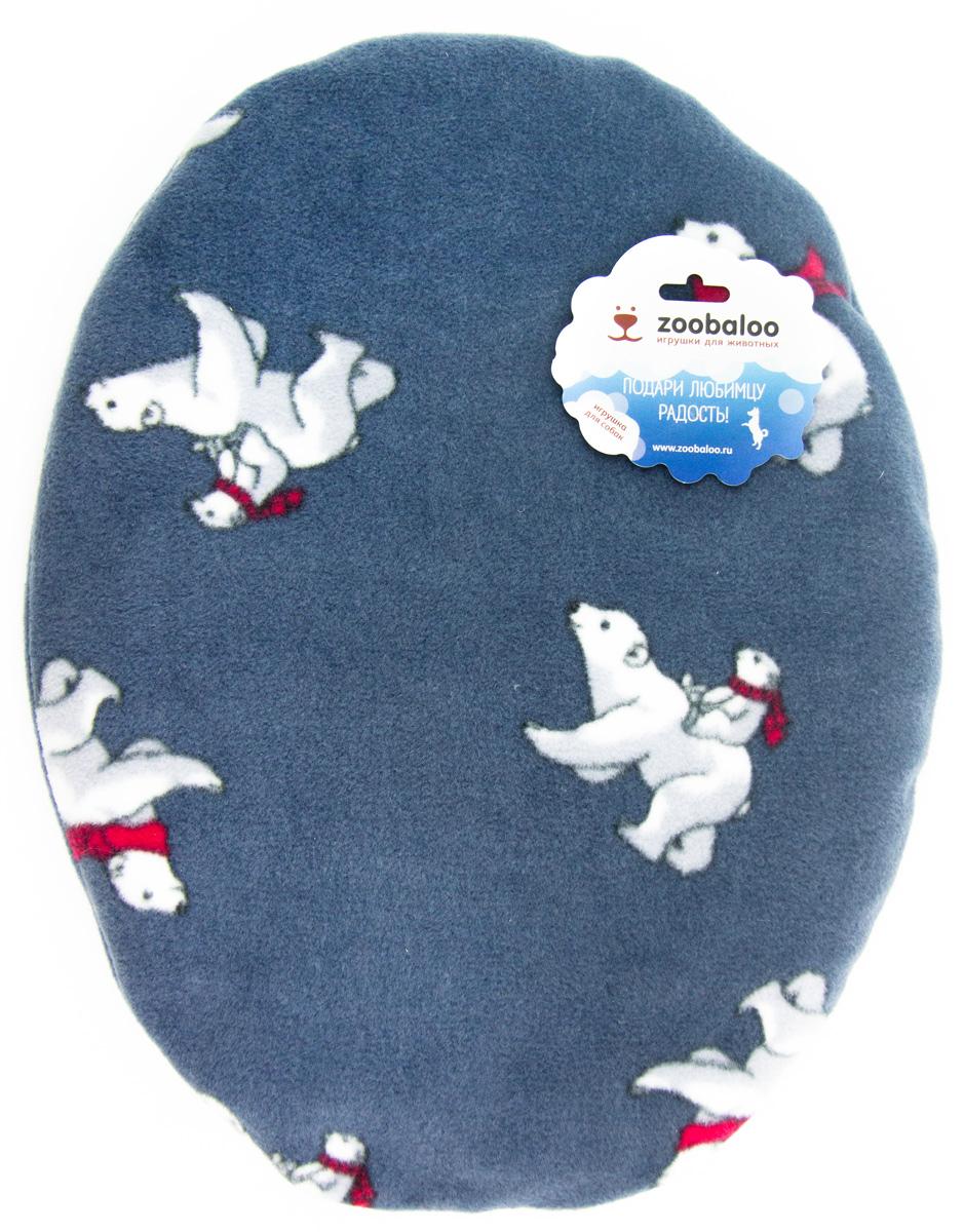 Лежак-коврик для животных Zoobaloo Мишки, 55 х 45 см1189Великолепный флисовый лежак-коврик Zoobaloo - это отличный аксессуар для вашего питомца, на котором можно спать, играться и снова, приятно устав, заснуть. Он идеально подходит для полов с любым покрытием. Изделие поддерживает температурный баланс вашего питомца в любое время года. Наполнитель выполнен из синтепона.
