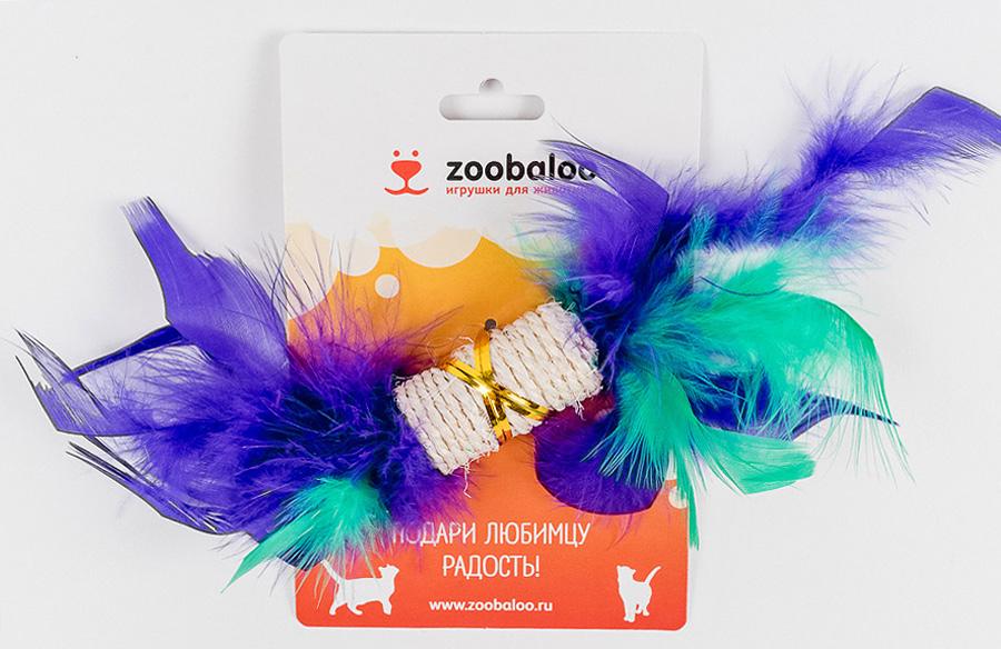 Игрушка для кошек Zoobaloo Когтеточка с пером. 33003300Игрушка Zoobaloo Когтеточка с пером предназначена для кошек. Эта привлекательная когтеточка изготовлена из сизалевой ткани, украшена яркими перьями и позволит вам избежать появления царапин на мебели! Ваш питомец сможет затачивать когти без вреда интерьеру вашего дома. Кошачья мята делает игрушку отличным аксессуаром для самостоятельной игры.