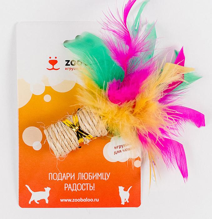 Игрушка для кошек Zoobaloo Когтеточка с пером331Игрушка Zoobaloo Когтеточка с пером предназначена для кошек. Эта привлекательная когтеточка изготовлена из сизалевой ткани, украшена яркими перьями и позволит вам избежать появления царапин на мебели! Ваш питомец сможет затачивать когти без вреда интерьеру вашего дома. Кошачья мята делает игрушку отличным аксессуаром для самостоятельной игры. Уважаемые клиенты! Обращаем ваше внимание на возможные изменения в цвете деталей товара. Поставка осуществляется в зависимости от наличия на складе.