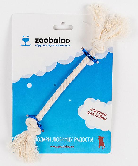 Грейфер для собак Zoobaloo, длина 21 см. 412412Грейфер для собак мелких пород Zoobaloo изготовлен из перекрученной хлопчатобумажной веревки и несомненно привлечет внимание вашей собаки. Традиционная игрушка для собак. Прочный и долговечный, абсолютно безопасный.