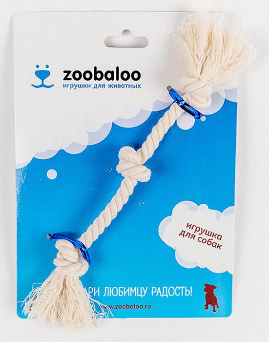 Грейфер для собак Zoobaloo, длина 21 см413Классическая игрушка для собак из х/б веревки ручной работы высшего качества с узелками посередине и на концах. Натуральная веревка помогает очистить зубы собаки от налета и зубного камня и поддерживать гигиену полости рта. Ее можно жевать, бросать и приносить. Море радости и азарта обеспечено!