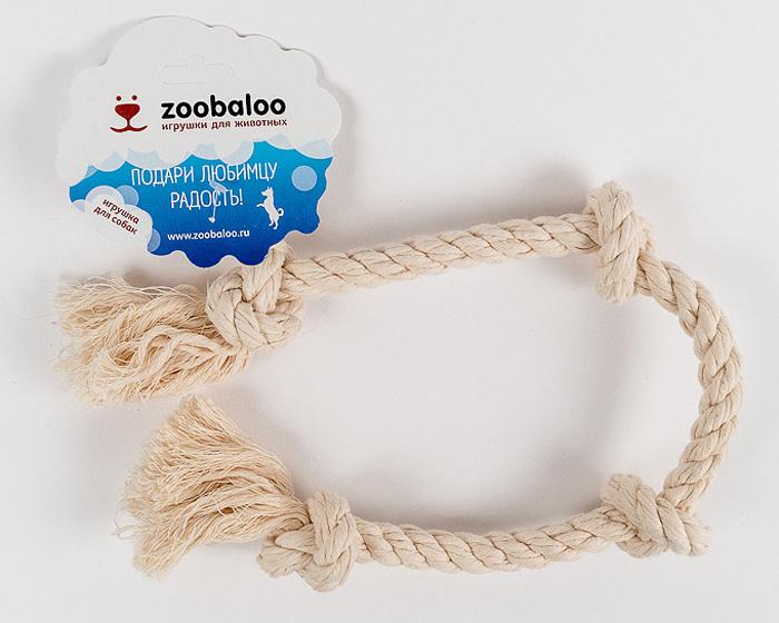 Грейфер для собак Zoobaloo, длина 50 см417Классическая игрушка для собак Zoobaloo изготовлена из хлопка высшего качества. Натуральная веревка помогает очистить зубы собаки от налета и зубного камня и поддерживать гигиену полости рта. Ее можно жевать, бросать и приносить. Море радости и азарта обеспечено!