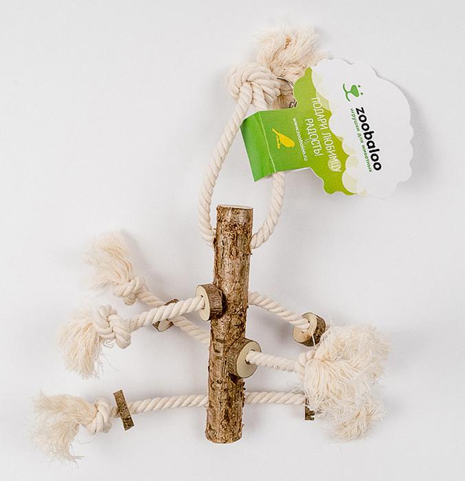 Игрушка для птиц Zoobaloo Чуча520Игрушка Zoobaloo Чуча не только поможет скрасить досуг, но и отлично развивает птичье мышление и смекалку. Превосходный аксессуар для любой клетки. Подойдет как маленьким птичкам, так и крупным особям.