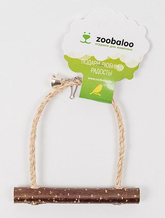 Игрушка для птиц Zoobaloo Качели с колоколом537Оригинальная игрушка Zoobaloo Качели с колоколом предназначена для поддержания активности ваших питомцев. Сделана из натуральных материалов и оснащена удобной жердочкой и колокольчиком.