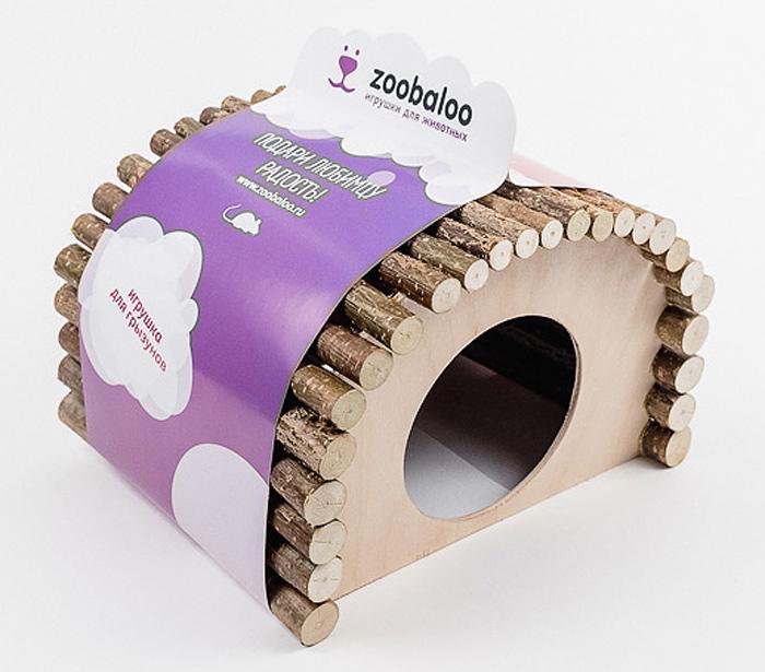 Домик для грызунов Zoobaloo Овал, 18 х 15 х 15 см609Комфортный деревянный домик Zoobaloo послужит надежным укрытием вашему любимцу, а также идеальным местом для сна и отдыха! Домик весьма просторный, имеет оригинальную овальную крышу, изготовленную из прутьев орешника, и удобный круглый вход. Этот аксессуар предоставит вашему любимцу минуты отдыха в течение дня. Домик позволит вашему грызуну ощутить максимальный комфорт и уют!