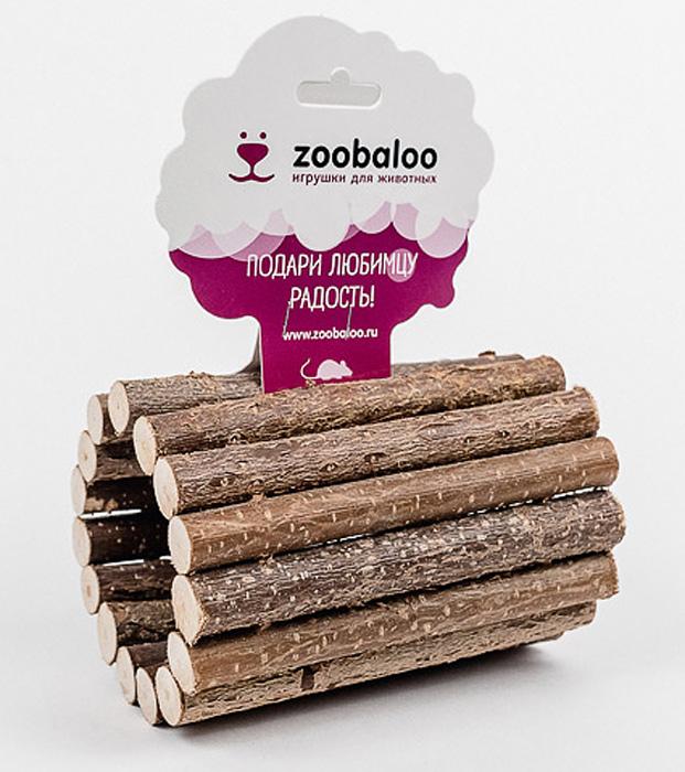 Тоннель для грызунов Zoobaloo, средний658Тоннель для грызунов из орешника средний. Представляем вам игрушку в форме тоннеля из орешника. Она специально создана для того, чтобы ваши питомцы могли веселиться и прятаться. Абсолютно натуральная, она является идеальным аксессуаром для клеток. Превосходный аттракцион для вашего любимца - прекрасное средство разнообразить досуг и всегда оставаться в форме!