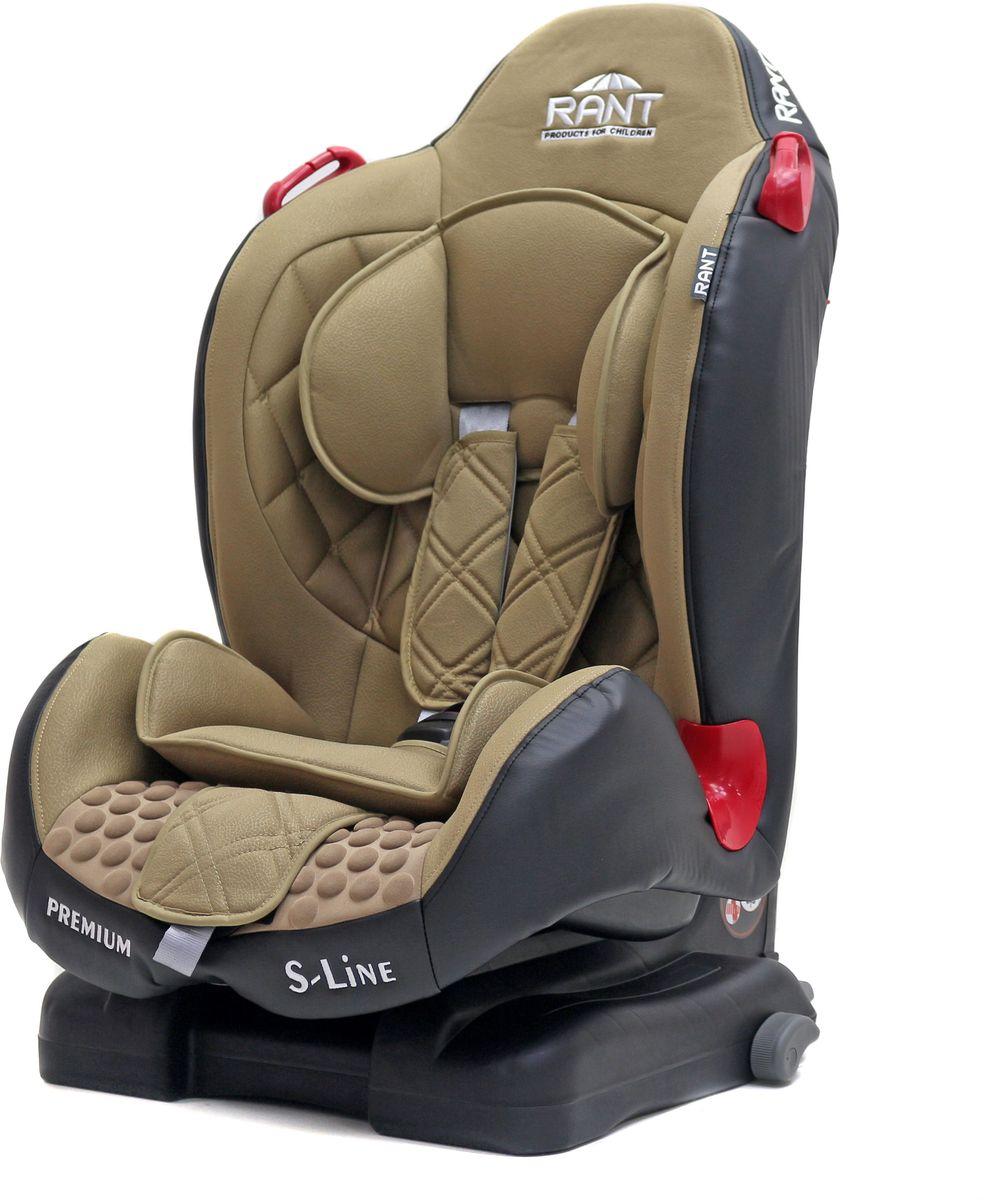 Rant Автокресло Premium Isofix цвет кофейный от 9 до 25 кг4650070987464Серия S-Line автокресло Premium группа 1-2. Вес ребенка: 9-25 кг, возраст: от 09 мес. до 7 лет (ориентировочно), cистема крепления IsoFix, устанавливается по ходу движения автомобиля, пятиточечный ремень безопасности с мягкими плечевыми накладками и антискользящими нашивками, 4-х ступенчатая настройка высоты подголовника, корректировка высоты ремня безопасности по уровню подголовника, 3 положения наклона корпуса, устойчивая база, фиксатор высоты штатных ремней безопасности, дополнительная боковая защита, съемный чехол, мягкий съемный вкладыш для малыша, сертификат Европейского Стандарта Безопасности ЕCE R44/04.