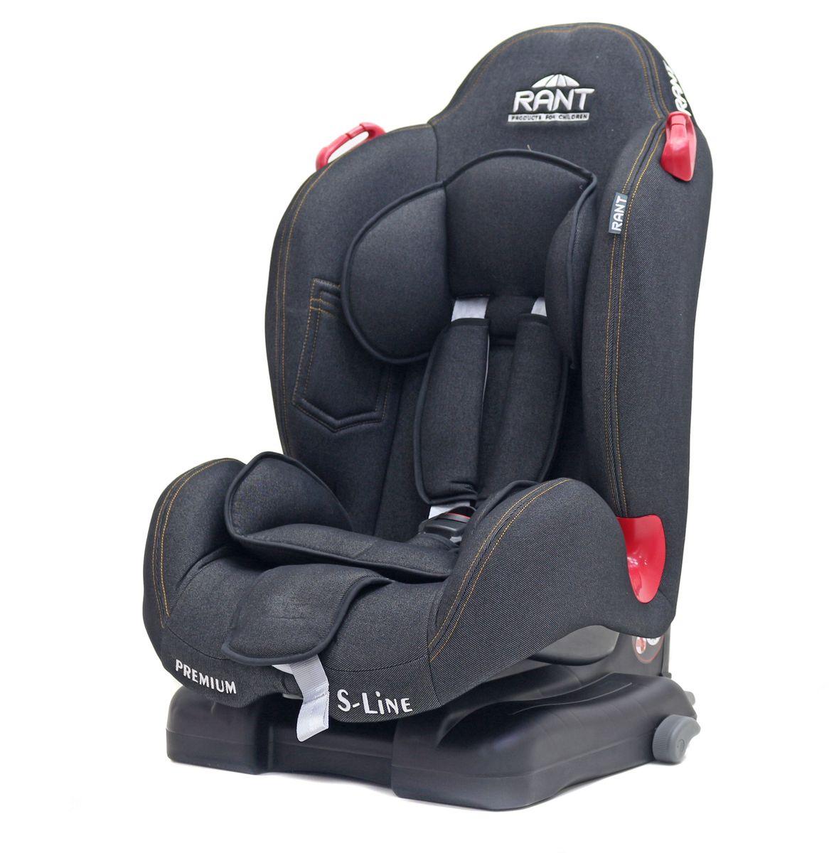 Rant Автокресло Premium Isofix цвет джинс от 9 до 25 кг4650070987488Серия S-Line автокресло Premium группа 1-2. Вес ребенка: 9-25 кг, возраст: от 09 мес. до 7 лет (ориентировочно), cистема крепления IsoFix, устанавливается по ходу движения автомобиля, пятиточечный ремень безопасности с мягкими плечевыми накладками и антискользящими нашивками, 4-х ступенчатая настройка высоты подголовника, корректировка высоты ремня безопасности по уровню подголовника, 3 положения наклона корпуса, устойчивая база, фиксатор высоты штатных ремней безопасности, дополнительная боковая защита, съемный чехол, мягкий съемный вкладыш для малыша, сертификат Европейского Стандарта Безопасности ЕCE R44/04.