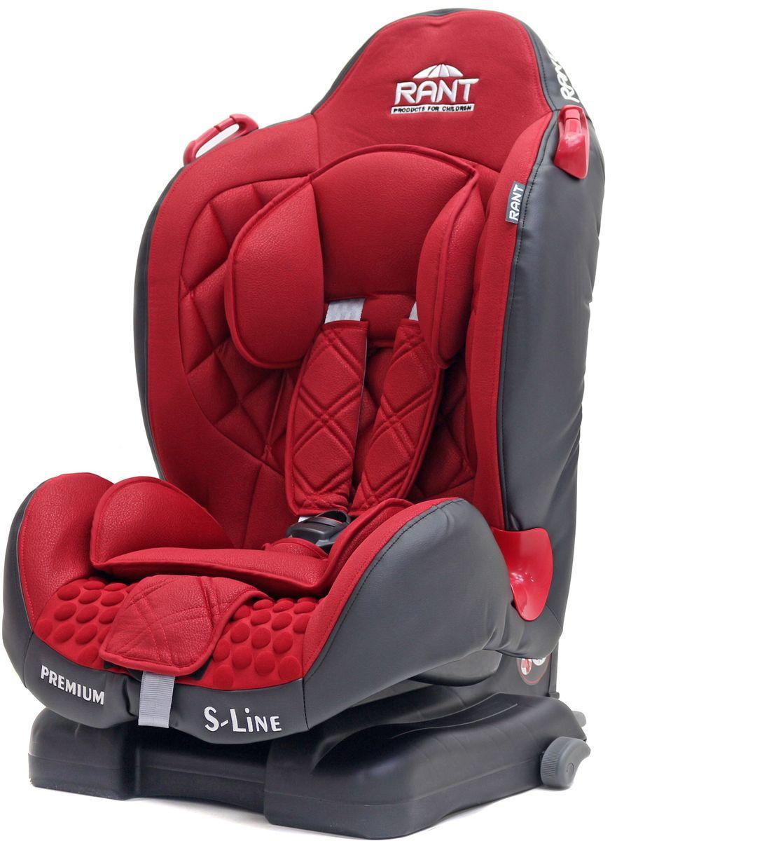 Rant Автокресло Premium Isofix цвет красный от 9 до 25 кг4650070987495Серия S-Line автокресло Premium группа 1-2. Вес ребенка: 9-25 кг, возраст: от 09 мес. до 7 лет (ориентировочно), cистема крепления IsoFix, устанавливается по ходу движения автомобиля, пятиточечный ремень безопасности с мягкими плечевыми накладками и антискользящими нашивками, 4-х ступенчатая настройка высоты подголовника, корректировка высоты ремня безопасности по уровню подголовника, 3 положения наклона корпуса, устойчивая база, фиксатор высоты штатных ремней безопасности, дополнительная боковая защита, съемный чехол, мягкий съемный вкладыш для малыша, сертификат Европейского Стандарта Безопасности ЕCE R44/04.