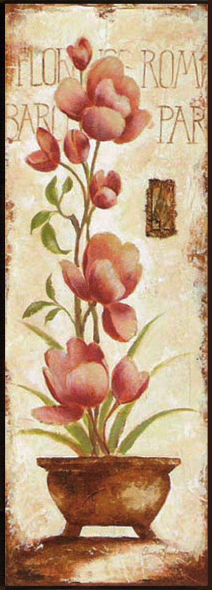 Декобокс СолоДомДекор Цветы в кашпо 1, 25х70 см2000191902488