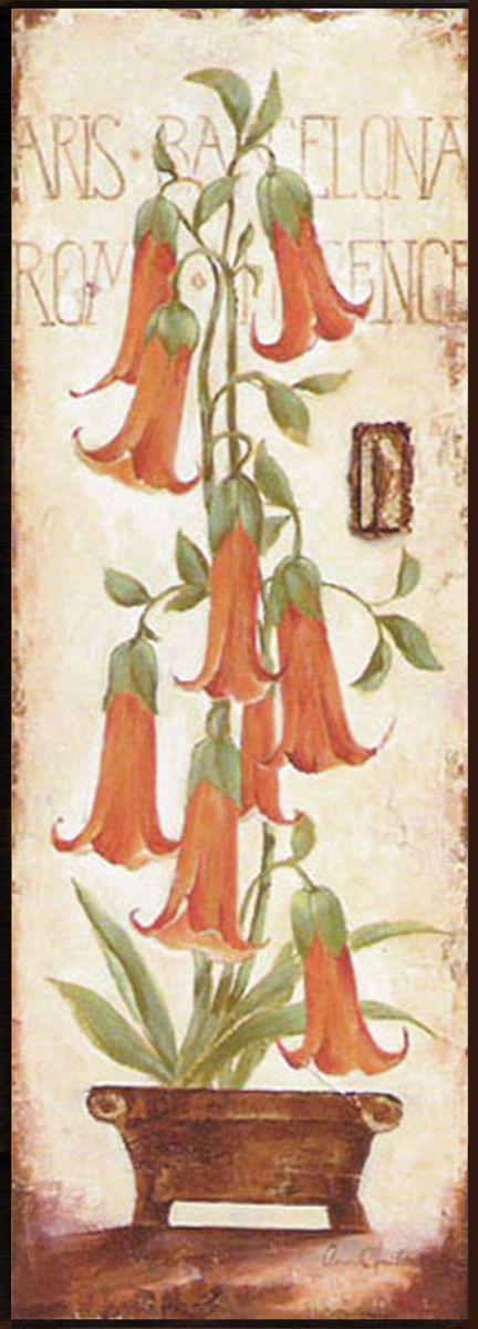 Декобокс СолоДомДекор Цветы в кашпо 2, 25х70 см2000191902495