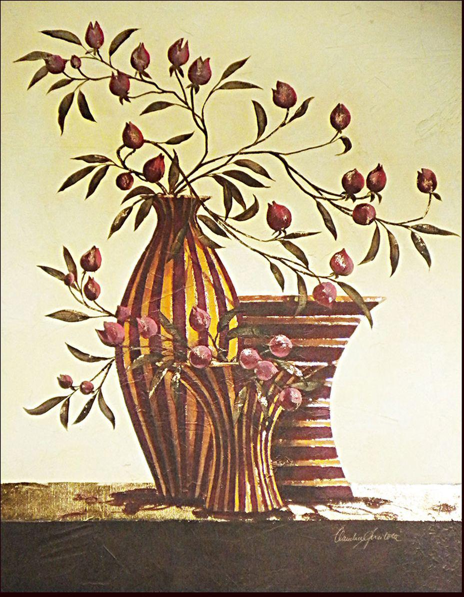 Декобокс СолоДомДекор Цветы в вазах 2, 40х50 см2000191902860