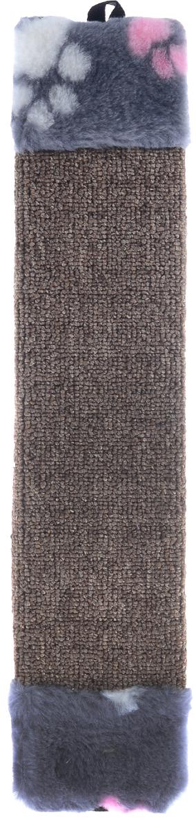 Когтеточка Elite Valley, с пропиткой, цвет: коричневый, серый, розовый, длина 42 смКТ-1_коричневый, серый, розовыйКогтеточка Elite Valley поможет сохранить мебель и ковры в доме от когтей вашего любимца, стремящегося удовлетворить свою естественную потребность точить когти. Когтеточка изготовлена из ДСП и обтянута ковролином. Изделие продумано в мельчайших деталях и, несомненно, понравится вашей кошке. Всем кошкам необходимо стачивать когти. Когтеточка - один из самых необходимых аксессуаров для кошки. Общая длина когтеточки: 51 см. Длина рабочей части: 39,5 см.