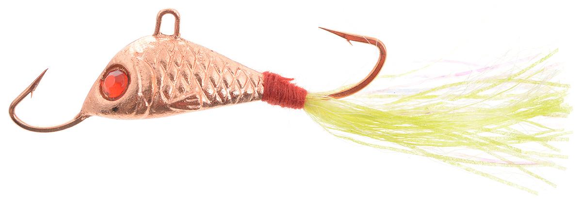 Балансир Finnex, длина 3,5 см, вес 5 г. BLR1- CU+BLR1- CU+Балансир Finnex имеет светящийся хвостик, который поможет приманить рыбу на глубине в несколько метров. Форма этого балансира напоминает мелкую рыбку. Балансир оснащен блестящим глазком, что делает его более заметным и позволяет привлечь рыбу с более дальнего расстояния. Изделие изготовлено из прочного свинцового сплава с элементами пластика.