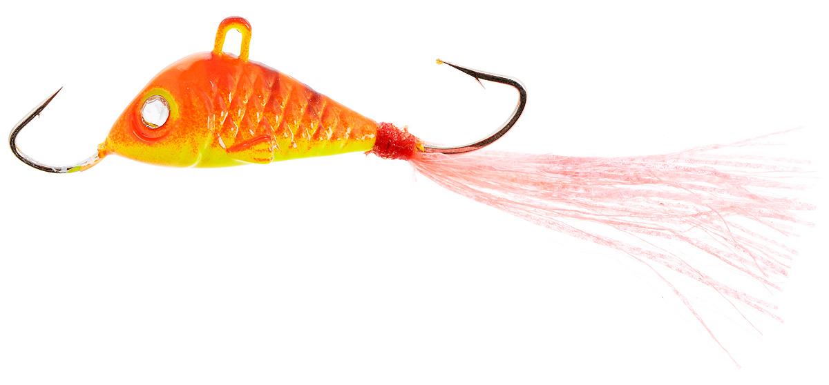Балансир Finnex, длина 3,5 см, вес 5 г. BLR1-RETBLR1-RETБалансир Finnex имеет светящийся хвостик, который поможет приманить рыбу на глубине в несколько метров. Форма этого балансира напоминает мелкую рыбку. Балансир оснащен блестящим глазком, что делает его более заметным и позволяет привлечь рыбу с более дальнего расстояния. Изделие изготовлено из прочного свинцового сплава с элементами пластика.