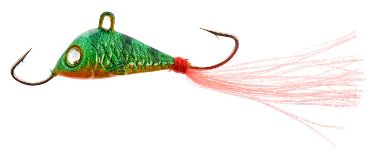 Балансир Finnex, длина 3,5 см, вес 5 г. BLR1-MGTBLR1-MGTБалансир Finnex имеет светящийся хвостик, который поможет приманить рыбу на глубине в несколько метров. Форма этого балансира напоминает мелкую рыбку. Балансир оснащен блестящим глазком, что делает его более заметным и позволяет привлечь рыбу с более дальнего расстояния. Изделие изготовлено из прочного свинцового сплава с элементами пластика.