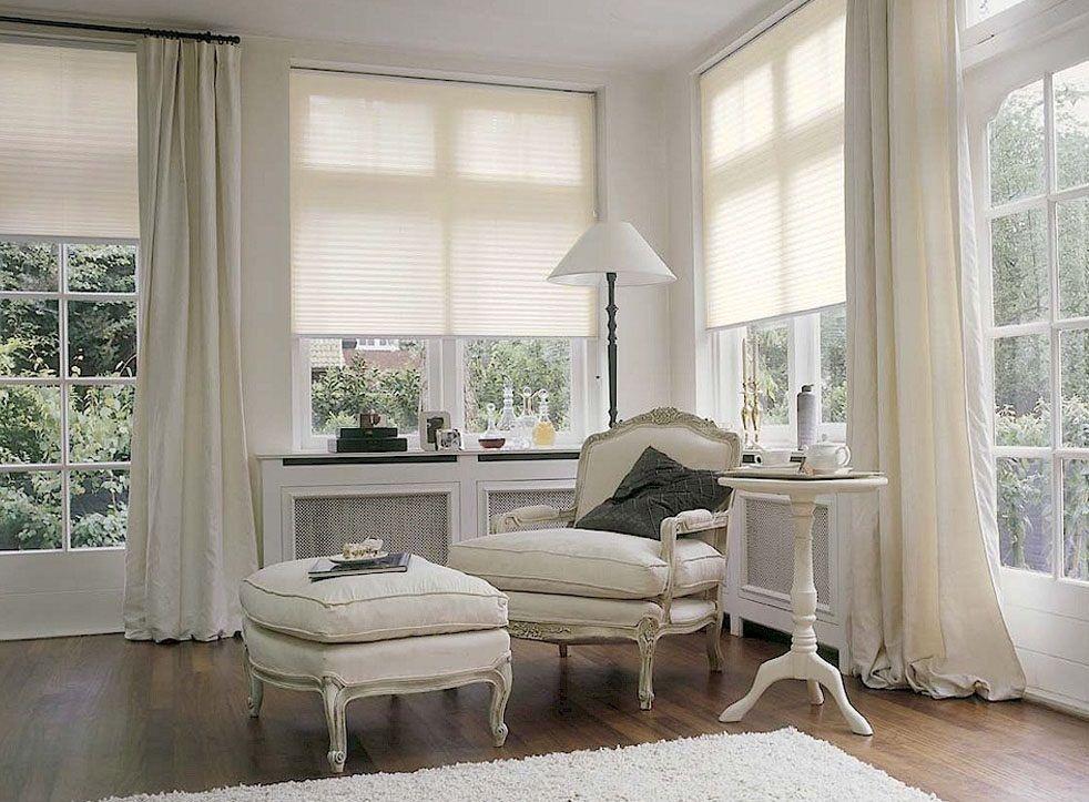 Плиссе Эскар, полунатяжное, цвет: светло-бежевый, 48х150 см14109048150Представленные шторы плиссе приятного белого или светло-бежевого окраса имеют шероховатую поверхность и отличаются упругостью. Закрепленные на окнах изделия позволяют сохранять прохладу в комнате. Плиссе гармонично вписывается в любой интерьер.