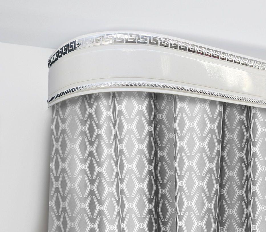Багет Эскар Антик, цвет: серебристый, 7 см х 120 см29606120Багет для карниза крепится к карнизным шинам. Благодаря багетному карнизу, от взора скрывается верхняя часть штор (шторная лента, крючки), тем самым придавая окну и интерьеру в целом изысканный вид и шарм. Вы можете выбрать багетные карнизы для штор среди широкого ассортимента багета Российского производства. У нас множество идей использования багета для Вашего интерьера, которые мы готовы воплотить! Грамотно подобранное оформление – ключ к превосходному результату!!!