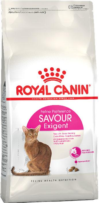 Корм сухой Royal Canin Exigent 35/30 Savoir Sensation, для кошек, привередливых к вкусу продукта, 10 кг471100Сухой корм Royal Canin Exigent 35/30 Savoir Sensation является полнорационным сбалансированным кормом для очень привередливых к вкусу продукта взрослых кошек в возрасте старше 1 года. Наличие индивидуальных пищевых предпочтений означает, что каждая кошка по-своему интерпретирует аромат, текстуру, вкус корма и ощущения после его потребления. Корм, помимо вкусовых качеств, обладает также рядом других оригинальных, специфических свойств. Особенности корма Royal Canin Exigent. Savor Sensation: - корм содержит два типа крокетов, различных по форме, текстуре и составу, обладающих взаимодополняющими свойствами; - особая рецептура корма обладает умеренной калорийностью, что помогает поддерживать идеальный вес кошки; - комплекс входящих в состав корма активных питательных веществ, включающий биотин и масло огуречника аптечного, способствует красоте шерсти кошки. Royal Canin - лидер на рынке производства рационов для собак и кошек, ...