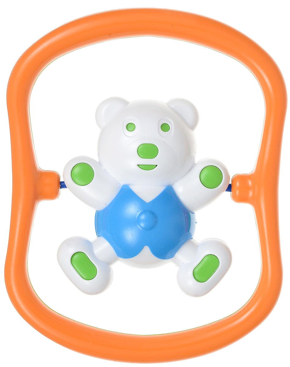 Аэлита Погремушка Мишка-баюн цвет синий2С420_синийЗабавная погремушка Аэлита Мишка-баюн поможет малышу научиться фокусировать внимание. Погремушка выполнена в ярком дизайне из безопасных материалов в виде забавного медвежонка в рамке. Фигурка медвежонка поворачивается вокруг своей оси и гремит. Удобная форма игрушки позволит малышу с легкостью взять и держать ее, а приятный звук погремушки порадует и заинтересует его. Игрушка поможет развить цветовое восприятие, тактильные ощущения и мелкую моторику рук ребенка, а элемент погремушки поспособствует развитию слуха.