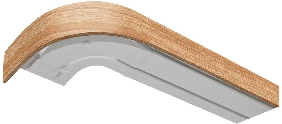 Багет Эскар, цвет: дуб, 5 см х 200 см29340200Багет для карниза крепится к карнизным шинам. Благодаря багетному карнизу, от взора скрывается верхняя часть штор (шторная лента, крючки), тем самым придавая окну и интерьеру в целом изысканный вид и шарм. Вы можете выбрать багетные карнизы для штор среди широкого ассортимента багета Российского производства. У нас множество идей использования багета для Вашего интерьера, которые мы готовы воплотить! Грамотно подобранное оформление – ключ к превосходному результату!!!