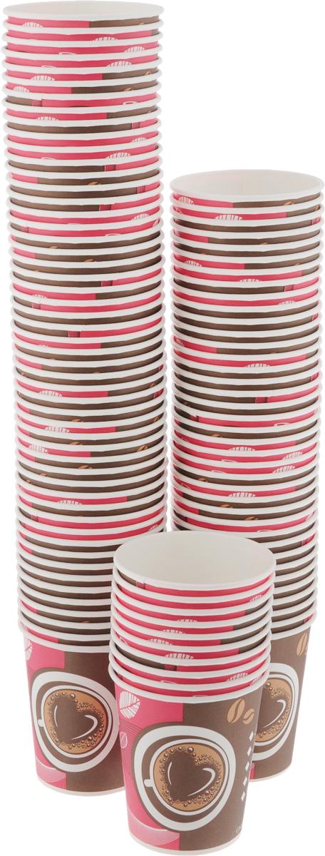 Набор одноразовых стаканов Huhtamaki Кофе с собой, 180 мл, 100 штПОС30519Одноразовые стаканы Huhtamaki Кофе с собой, изготовленные из плотной бумаги, предназначены для подачи горячих напитков. Вы можете взять их с собой на природу, в парк, на пикник и наслаждаться вкусными напитками. Несмотря на то, что стаканы бумажные, они очень прочные и не промокают. Диаметр (по верхнему краю): 7 см. Диаметр дна: 5 см. Высота: 7,5 см.