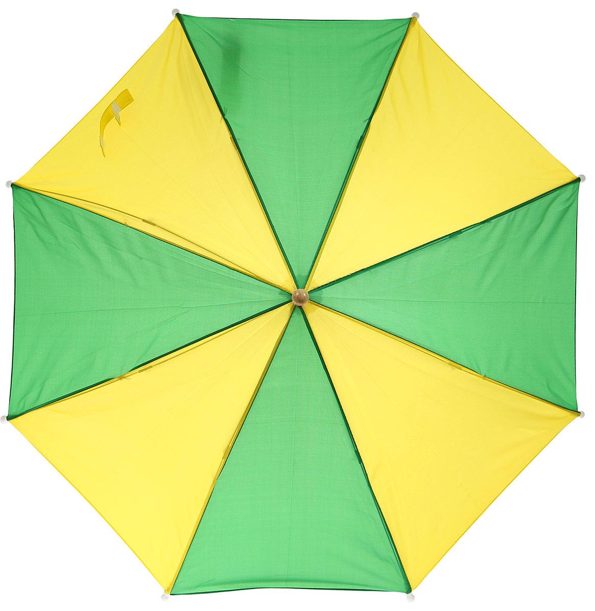Classic World Зонт Лягушонок2369Современный зонт Classic World Лягушонок защитит от солнечных лучей и осадков вашего ребенка. Зонт оснащен жесткими спицами, которые препятствуют его деформации под действием ветра. Благодаря оригинальному и яркому дизайну ваш малыш всегда будет выглядеть стильно, а удобная рукоятка выполненная в виде лягушонка не даст его потерять. Рекомендуется детям от 3-х лет.