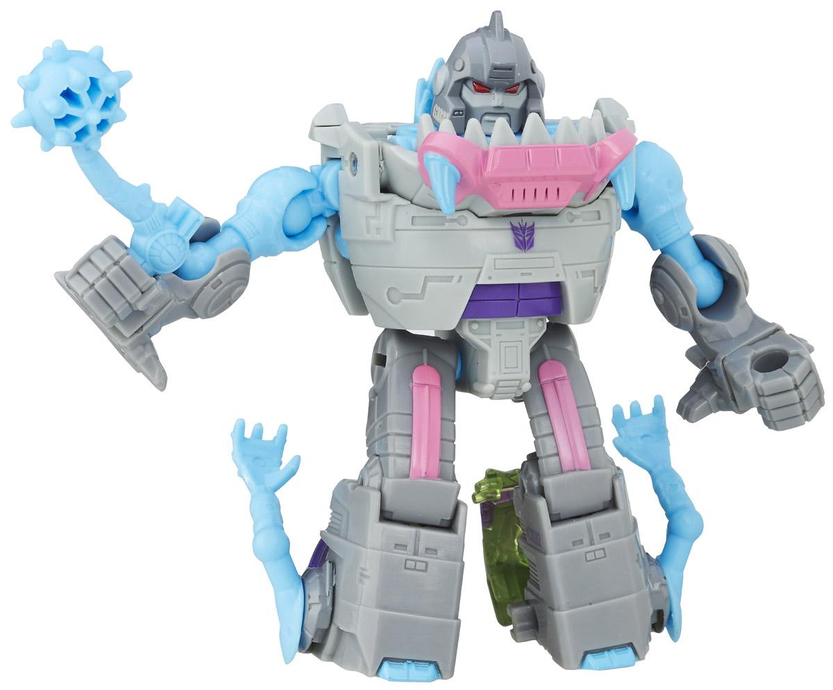 Transformers Трансформер GnawB0282_C7771Трансформер Transformers Gnaw обязательно понравится всем маленьким поклонникам знаменитых Трансформеров! Фигурка выполнена из прочного пластика. В несколько простых шагов малыш сможет трансформировать фигурку робота в огромную зубастую акулу и обратно. Фигурка отличается высокой степенью детализации. Ребенок с удовольствием будет играть с трансформером, придумывая различные истории. Порадуйте его таким замечательным подарком! В комплекте оружие трансформера и карта персонажа с техническими характеристиками.