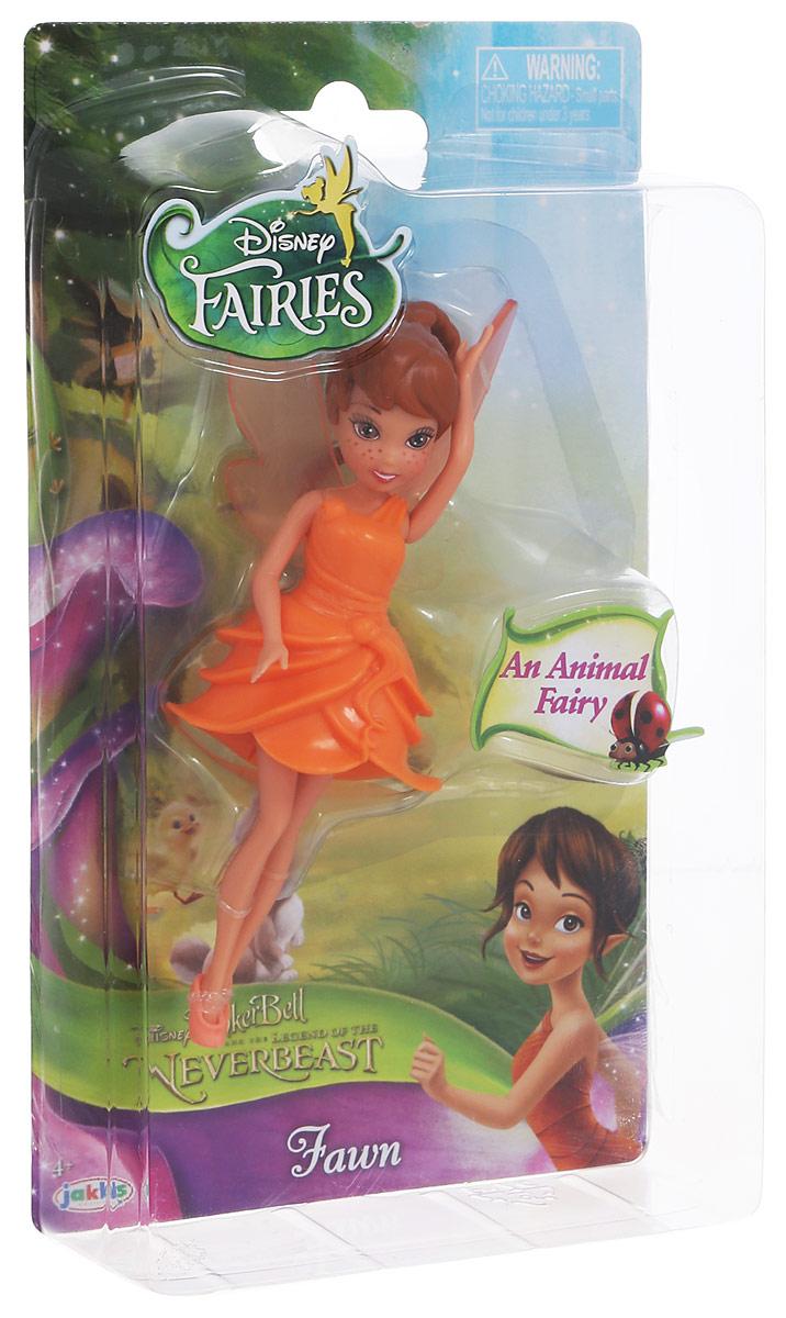 Disney Fairies Мини-кукла Фея Fawn747580_FawnМини-кукла Disney Fairies Фея Fawn - это милая игрушка, которая обязательно понравится вашей малышке. Куколка одета в оранжевое платье и обута в легкие туфельки. Наряд куклы выполнен в ярких и красочных цветах. На спине у куколки есть очаровательные крылышки. Кукла выглядит реалистичной, поэтому малышка, играя с ней, сможет почувствовать себя как в сказке.