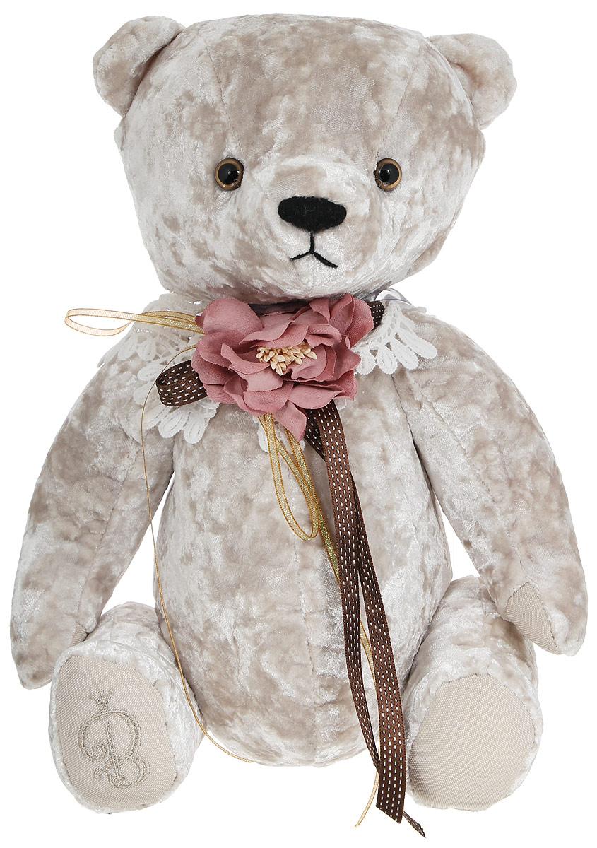BernArt Мягкая игрушка Медведь цвет белый 28 смBAw-10Мягкая игрушка BernArt Медведь - воплощение безупречного стиля и качества. Медведь BernArt - стильная классика, премиум подарок для самых взыскательных персон. Медведь выполнен из качественного материала, голова и лапки игрушки подвижные. На шее у мишки - оригинальное украшение. Игрушка поставляется в стильной открытой коробке и фирменном пакете.