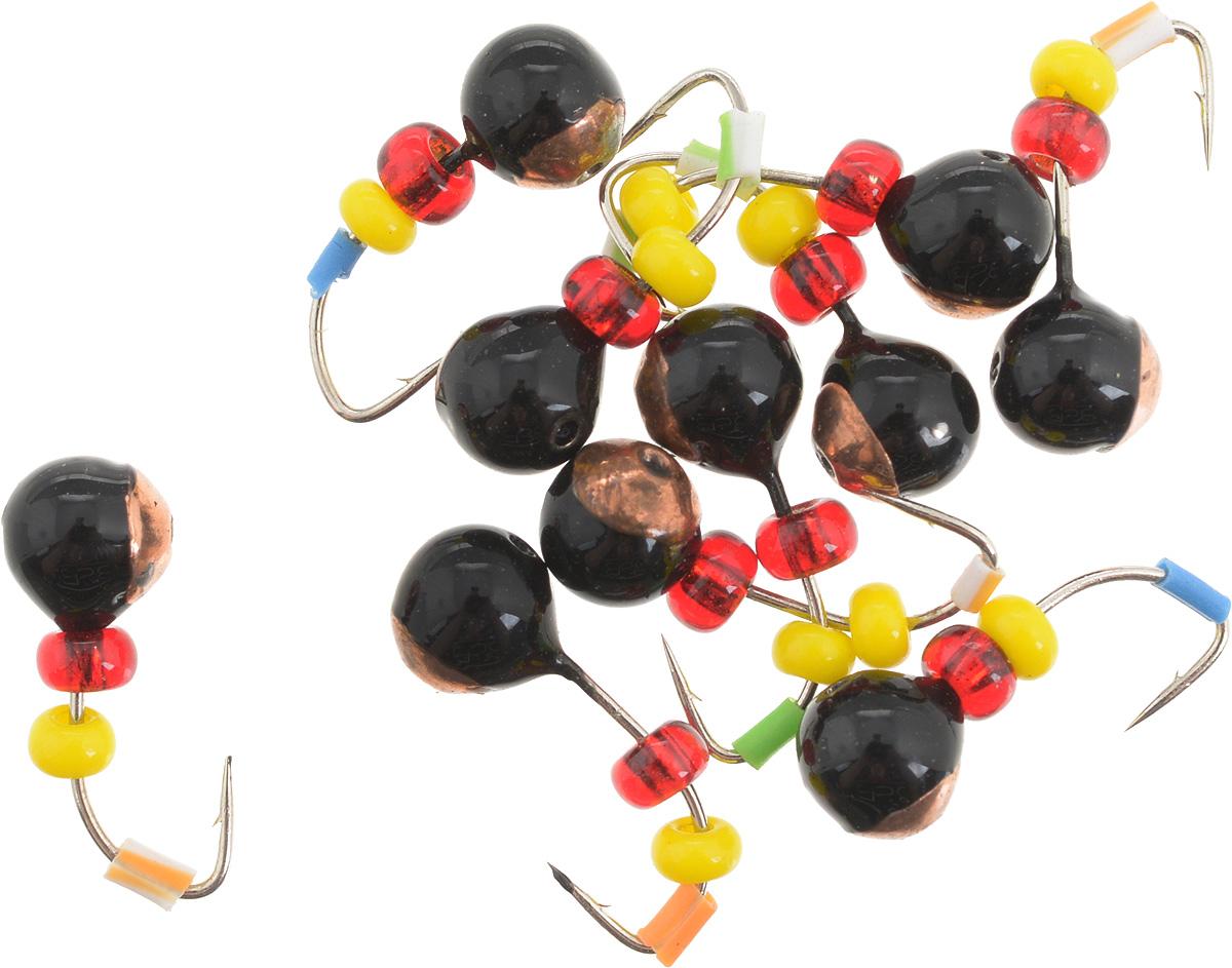 Мормышка вольфрамовая Dixxon Шар, с отверстием, с бисером, диаметр 3,5 мм, 0,55 г, 10 шт. 5941059410Мормышка Dixxon Шар изготовлена из вольфрама и оснащена крючком. Главное достоинство вольфрамовой мормышки - большой вес при малом объеме. Эта особенность дает большие преимущества при ловле, так как позволяет быстро погрузить приманку на требуемую глубину и лучше чувствовать игру мормышки. Подходит для подледной ловли.